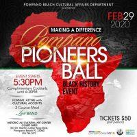 Black History Pompano Pioneers Banquet