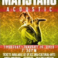 Matisyahu Acoustic Concert