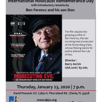 Special Film Presentation of Prosecuting Evil