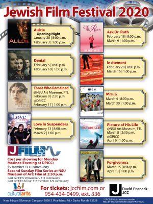 Jewish Film Festival 2020