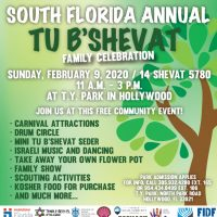 South Florida Annual Tu B'Shevat Family Celebration