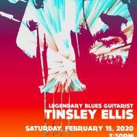 Legendary Blues Guitarist Tinsley Ellis Concert