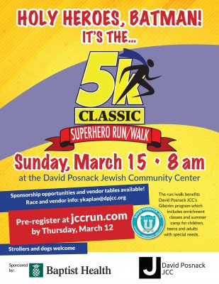 Superhero Classic 5k Run/Walk