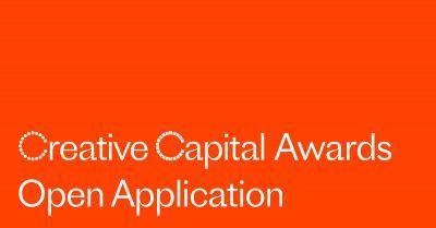 2020 Creative Capital Award