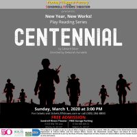 CENTENNIAL by Edward Bloor and Directed by Deborah Kondelik