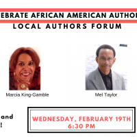 Celebrate African American Authors Forum!
