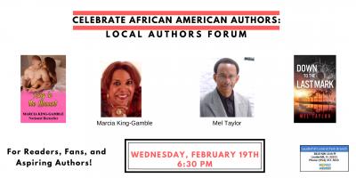 Celebrate African American Authors Forum!