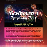 Master Chorale of South Florida Beethoven's 9th