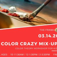 ArtFest Workshop: Color Crazy Mix Up!