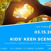 ArtFest Workshop: Kids' Keen Scene