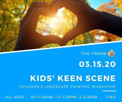ArtFest Workshop: Kids' Keen Scene