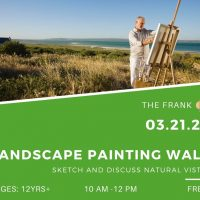 Free @ The Frank: Landscape Painting Walk