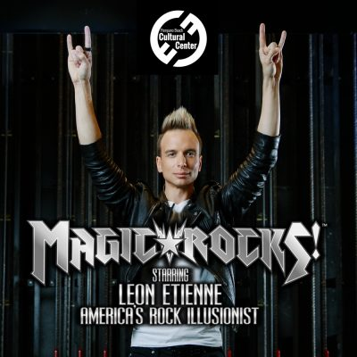 Magic Rocks! featuring Illusionist Leon Etienne