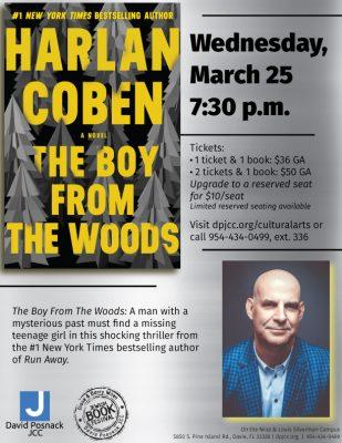 Harlan Coben Reading