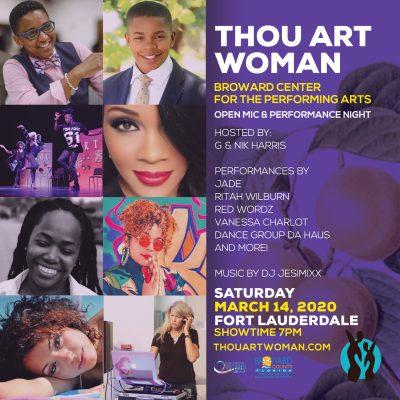 Thou Art Woman Open Mic and Performance Night