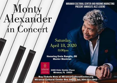 CANCELED: Monty Alexander in Concert