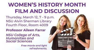 Women's History Month Film and Discussion