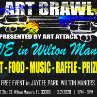 Art Brawl: Live in Wilton Manors!