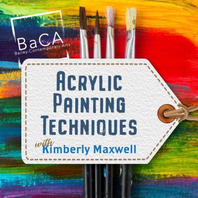 CANCELED: Acrylic Painting Techniques Workshop