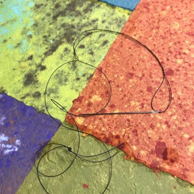 Washi Paper Dyeing and Bookbinding Workshop