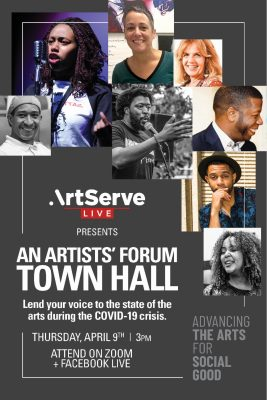 ArtServe Virtual Town Hall