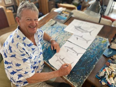 Facebook Live Art Sessions with Guy Harvey