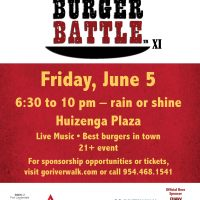 Riverwalk Fort Lauderdale Burger Battle XI