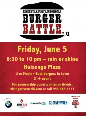 Riverwalk Fort Lauderdale Burger Battle XI