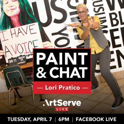 Paint and Chat with Lori Pratico