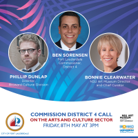 Commission District 4 Call on the Arts in Fort Lauderdale