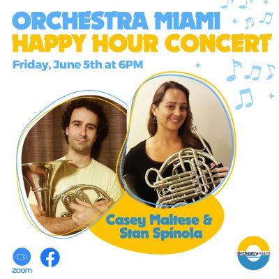 Orchestra Miami Happy Hour