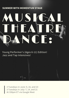 Musical Theatre Dance: Young Performers Edition