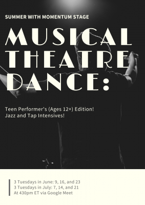 Musical Theatre Dance: Teen Performers Edition