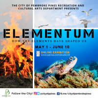 Elementum Virtual Art Exhibit and Workshops