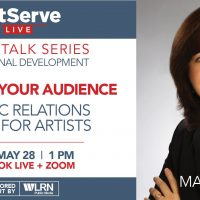 ArtServe Smart Talk Series: Public Relations for Artists