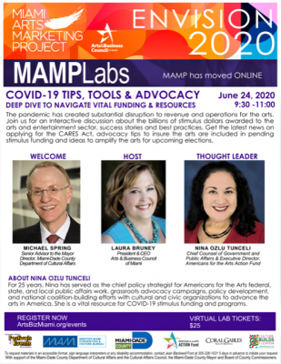 MAMP Lab 5: COVID-19 Tips, Tools, and Advocacy