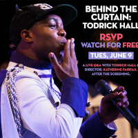 Behind The Curtain: Todrick Hall | Cocktails and Cinema Happy Hour