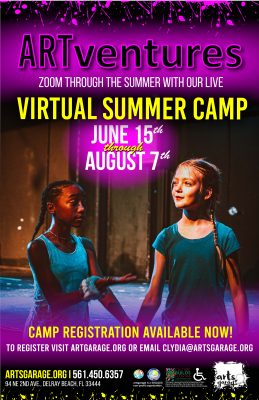 ARTventure Summer Virtual Camp