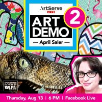 Art Demo with April Saler PART 2
