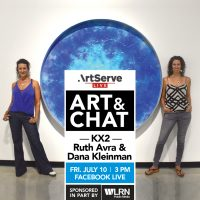 Art and Chat with KX2 Ruth Avra and Dana Kleinman