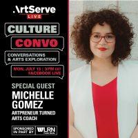 Culture Convo with Michelle Gomez