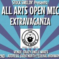 All Arts Open Mic Extravaganza