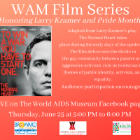 """June World AIDS Museum Film Series """"The Normal Heart"""""""
