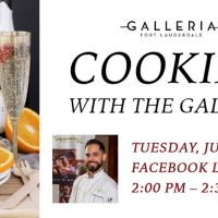 Cooking with The Galleria Virtual Series