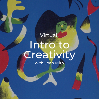 Virtual | Intro to Creativity Workshop with Joan M...