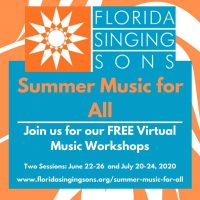 "Florida Singing Sons' ""Summer Music For All"""