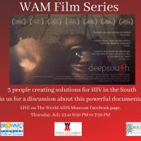 July World AIDS Museum Film Series: deepsouth