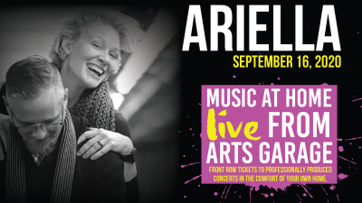 Music at Home: Live from Arts Garage with Ariella