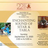 Enchanting Sound of Sitar and Tabla