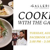 Chef Elvis Bravo's Next Free Cooking With The Galleria